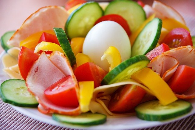 Pepper & cucumber salad