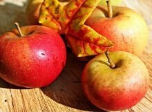 Preserving apples