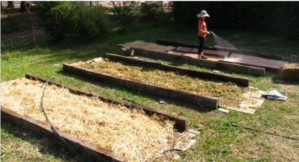 No-dig garden beds
