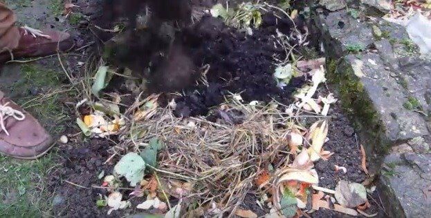 Simple composting technique