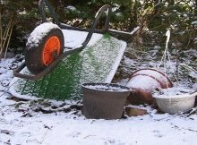 Winter composting