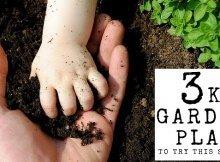 kids garden plan