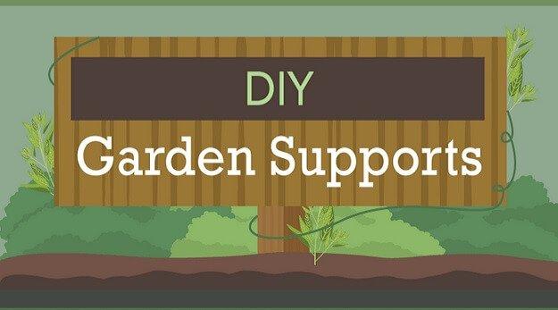 DIY garden supports