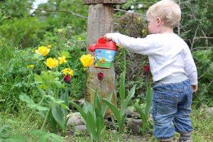 Involving your kids in gardening