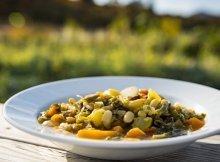 Summer garden veggie minestrone recipe