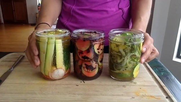 3 easy zucchini pickle recipes